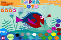 Finding Nemo - Paper Toys